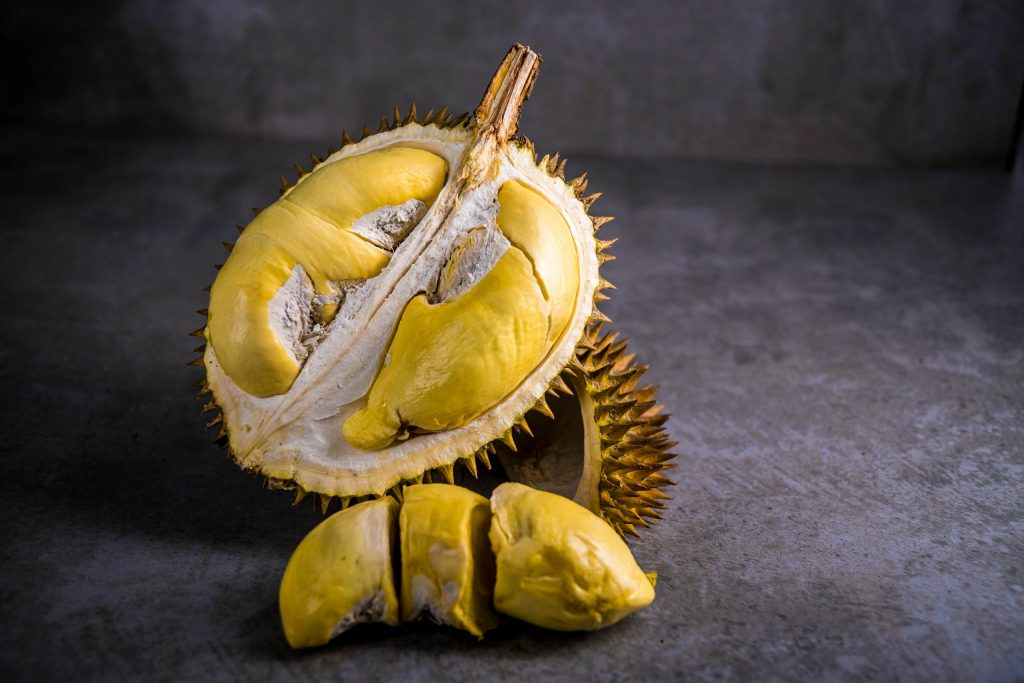 About Us Durian Closeup | Musang King | D24 | Fresh Durian | Durian Ice Cream | Durian Mochi | Durian Crepe Cake | Durian Cheesecake | Tip Top Durian Delivery | Singapore Top Fresh Durian Online Delivery