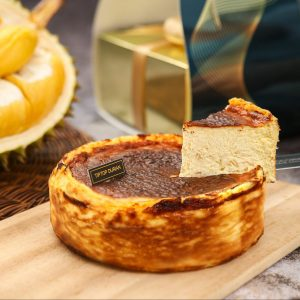Durian Burnt Cheesecake | Tip Top Durian Delivery | Singapore Top Fresh Durian Online Delivery